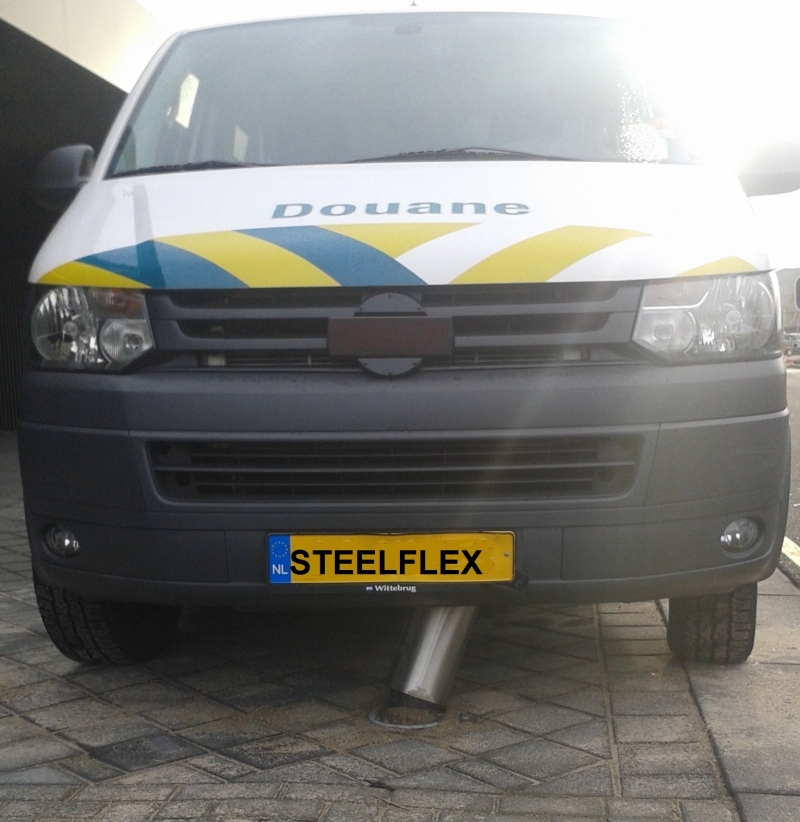 Steelflex 158mm RVS